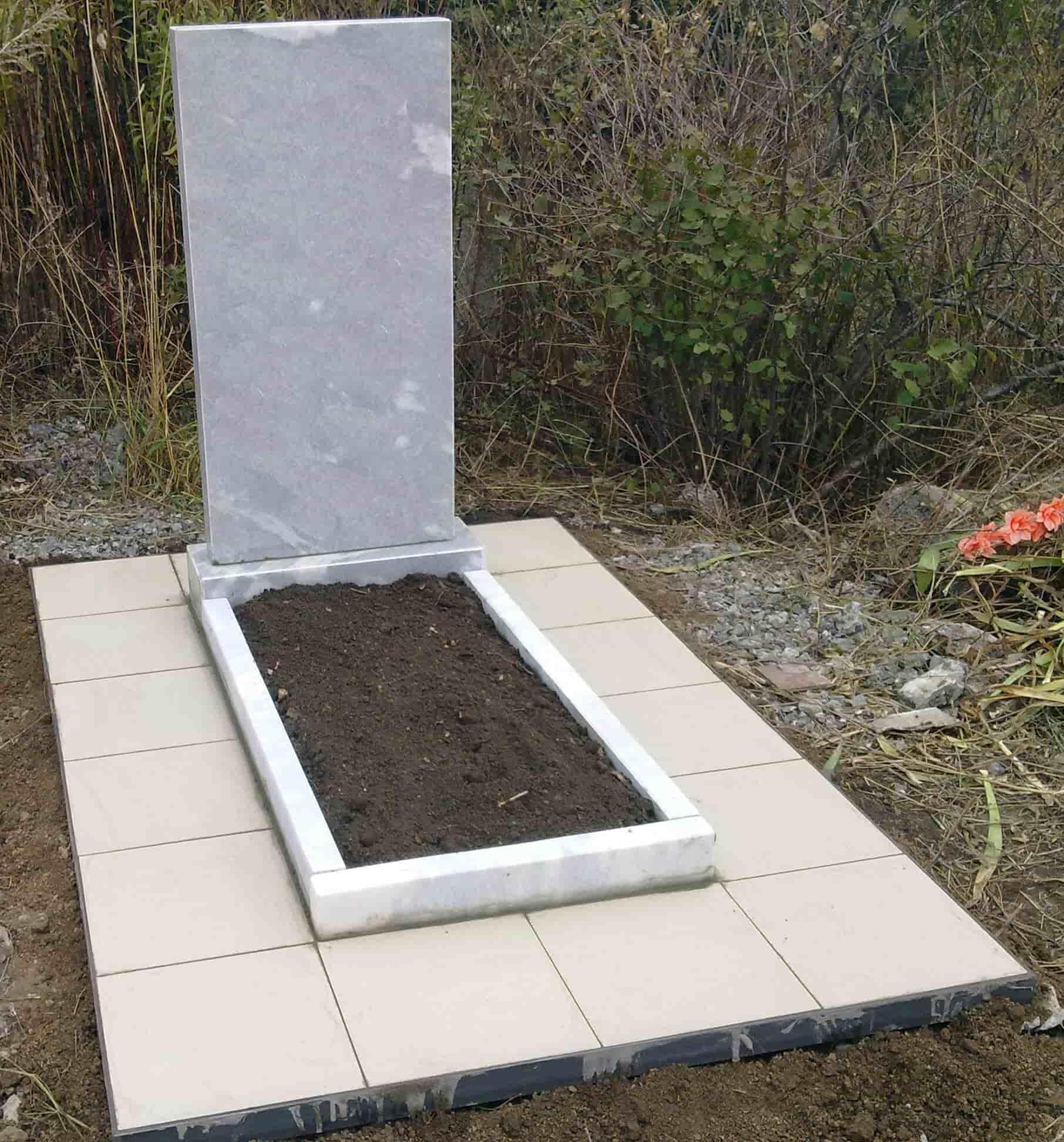 Как сделать могилу из плитки